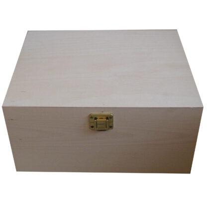 Unfinished Plain Wooden Boxes