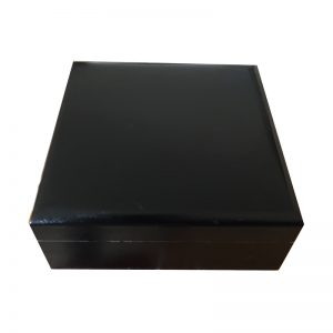 Small Black Trinket Wood Box for a man