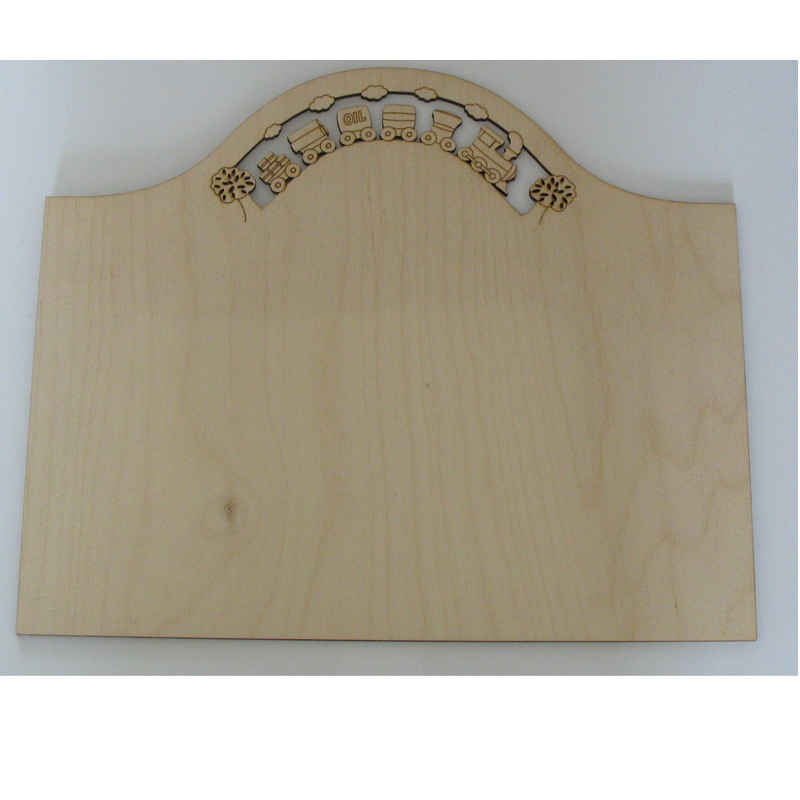 Plain Wood Craft Blank Signs Plaques To Paint Decorate Laser Cut Trains