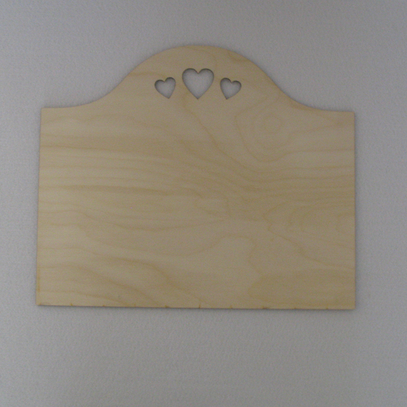 Plain Wood Craft Blank Plaques To Paint Decorate Hearts