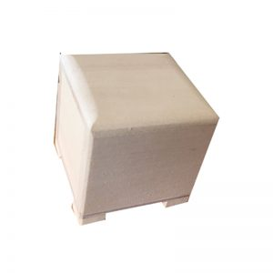 Small Plain Wooden Ring Box to decorate