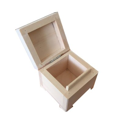 Plain Small Wooden Limewood Ring Box