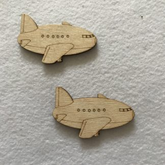 Aeroplanes x 2 Craft Shapes