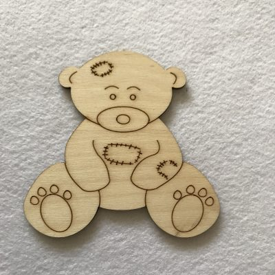 Teddy Bear Craft Shape Blank