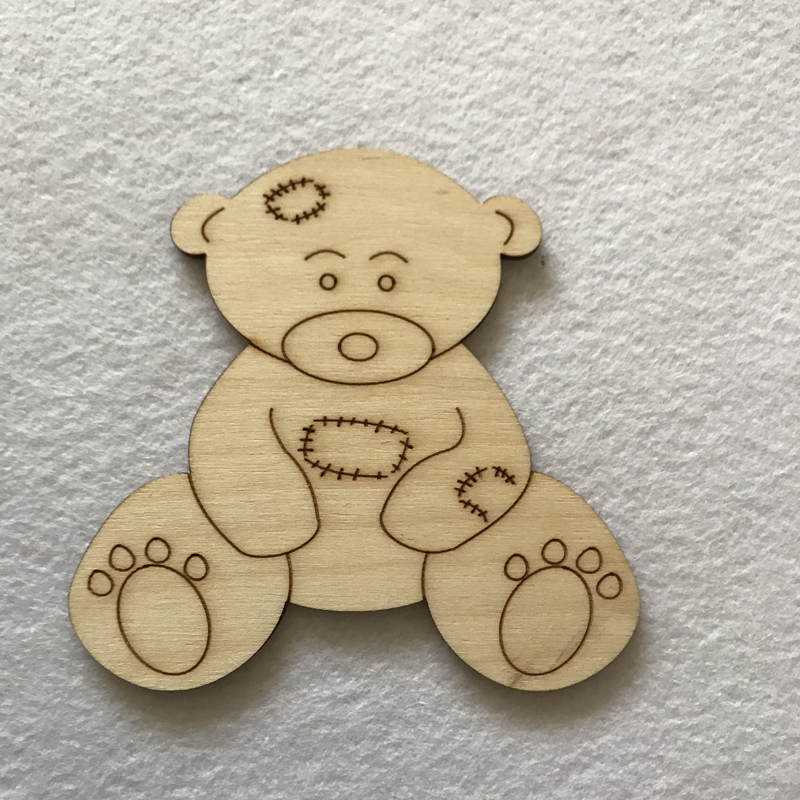 Teddy Bear Craft Shape Blank