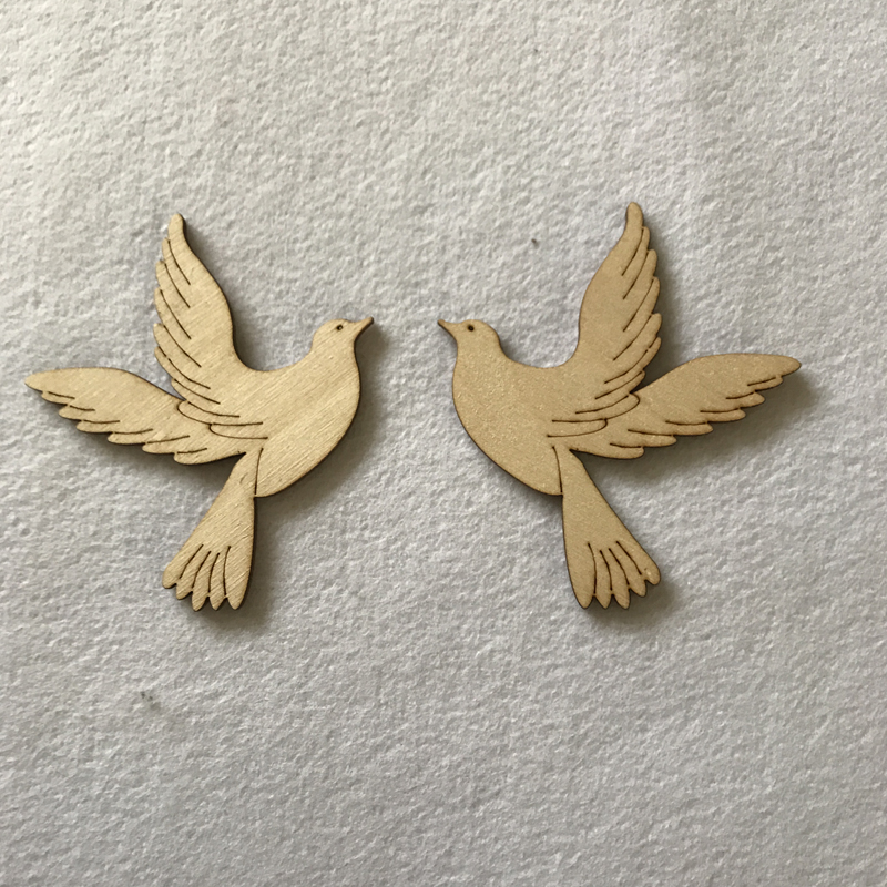 Craft Shapes Doves