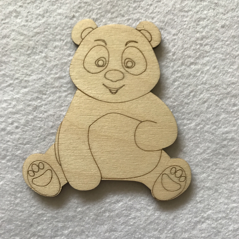 wooden craft shapes wooden craft shapes panda 3257