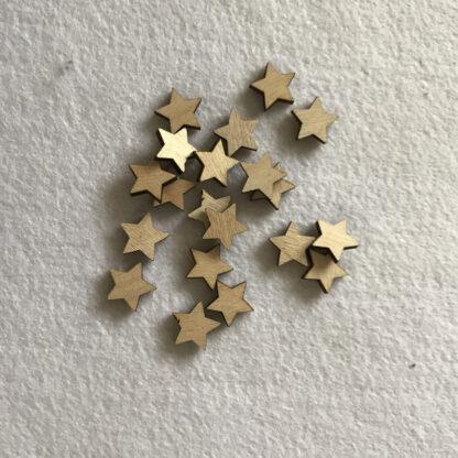 Wood Craft Shapes Stars