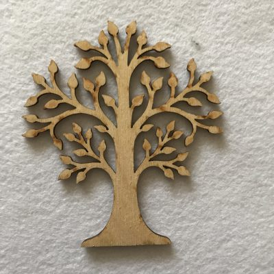 Wood Craft Shape Tree of life